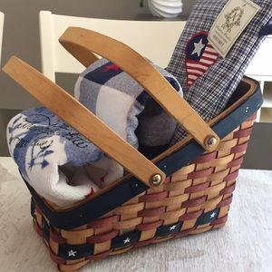 Other - Americana kitchen basket bundle
